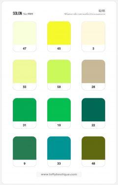 สีผ้าโซลอน
