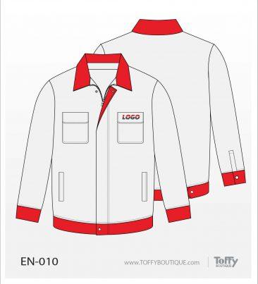 เสื้อช็อป Engineer Shirt 010