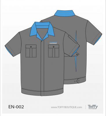 เสื้อช็อป Engineer Shirt 002