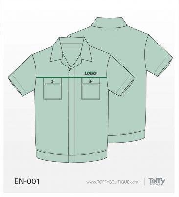 เสื้อช็อป Engineer Shirt 001