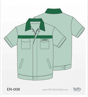 เสื้อช็อป Engineer Shirt 008
