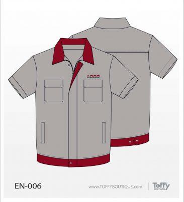 เสื้อช็อป Engineer Shirt 006