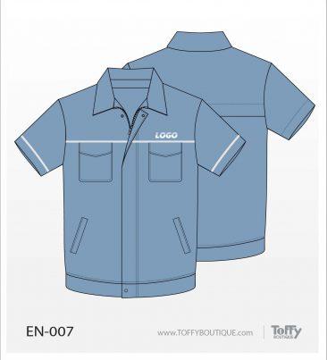 เสื้อช็อป Engineer Shirt 007
