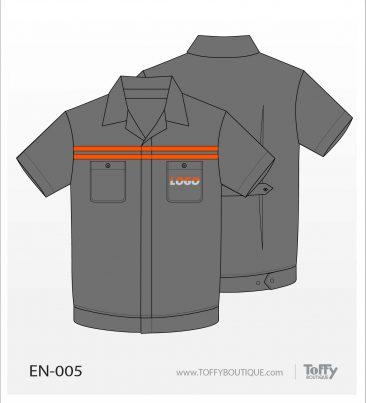 เสื้อช็อป Engineer Shirt 005
