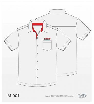 เสื้อเชิ้ตช่าง ยูนิฟอร์ม 1-001