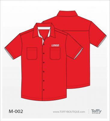 เสื้อเชิ้ตช่าง ยูนิฟอร์ม 1-002