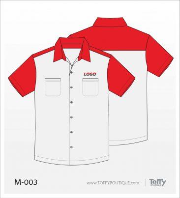 เสื้อเชิ้ตช่าง ยูนิฟอร์ม 1-003