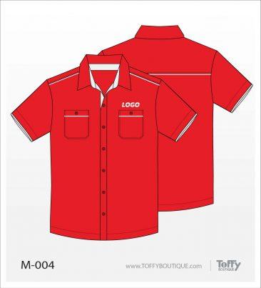 เสื้อเชิ้ตช่าง ยูนิฟอร์ม 1-004