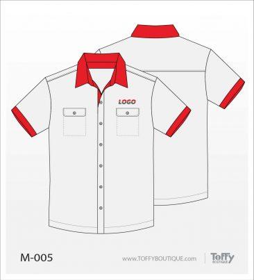 เสื้อเชิ้ตช่าง ยูนิฟอร์ม 1-005
