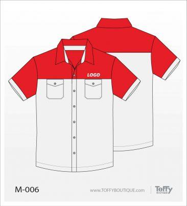 เสื้อเชิ้ตช่าง ยูนิฟอร์ม 1-006