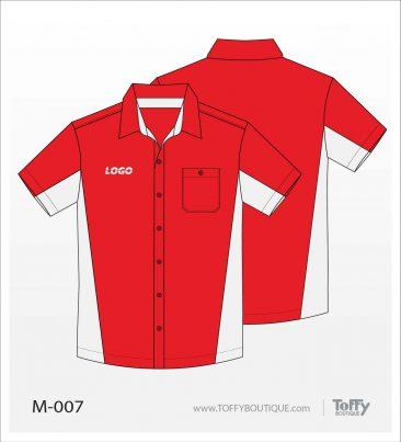 เสื้อเชิ้ตช่าง ยูนิฟอร์ม 1-007