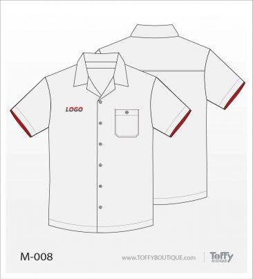 เสื้อเชิ้ตช่าง ยูนิฟอร์ม 1-008