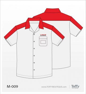 เสื้อเชิ้ตช่าง ยูนิฟอร์ม 1-009
