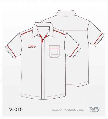 เสื้อเชิ้ตช่าง ยูนิฟอร์ม 1-010