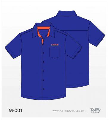 เสื้อเชิ้ตช่าง ยูนิฟอร์ม 2-001