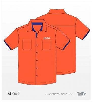 เสื้อเชิ้ตช่าง ยูนิฟอร์ม 2-002