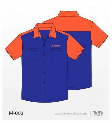 เสื้อเชิ้ตช่าง ยูนิฟอร์ม 2-003