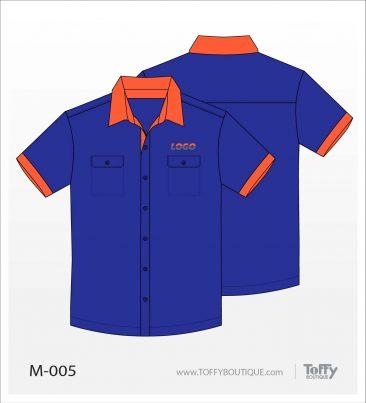 เสื้อเชิ้ตช่าง ยูนิฟอร์ม 2-005