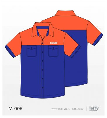 เสื้อเชิ้ตช่าง ยูนิฟอร์ม 2-006