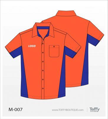 เสื้อเชิ้ตช่าง ยูนิฟอร์ม 2-007
