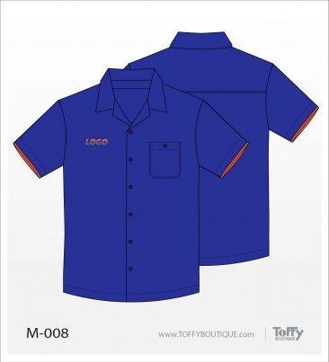 เสื้อเชิ้ตช่าง ยูนิฟอร์ม 2-008