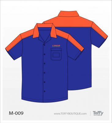 เสื้อเชิ้ตช่าง ยูนิฟอร์ม 2-009
