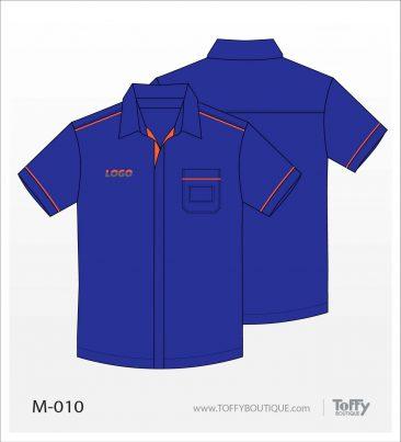เสื้อเชิ้ตช่าง ยูนิฟอร์ม 2-010