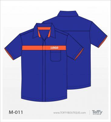เสื้อเชิ้ตช่าง ยูนิฟอร์ม 2-011