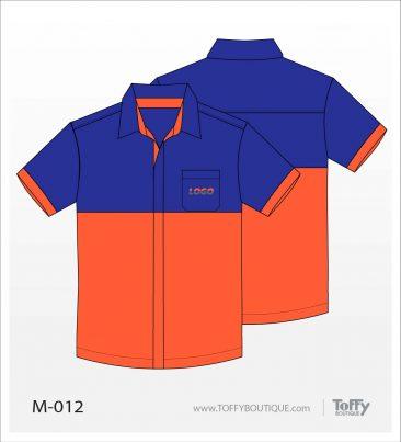 เสื้อเชิ้ตช่าง ยูนิฟอร์ม 2-012