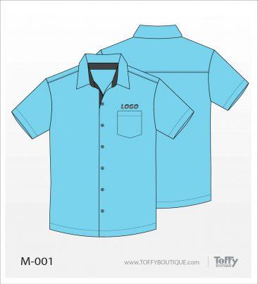 เสื้อเชิ้ตช่าง ยูนิฟอร์ม 3-001