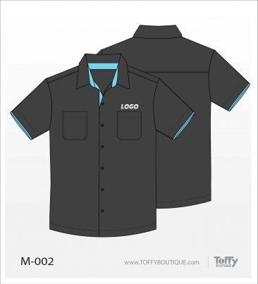 เสื้อเชิ้ตช่าง ยูนิฟอร์ม 3-002
