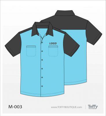 เสื้อเชิ้ตช่าง ยูนิฟอร์ม 3-003