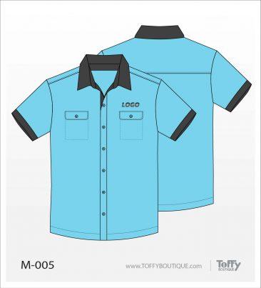 เสื้อเชิ้ตช่าง ยูนิฟอร์ม 3-005