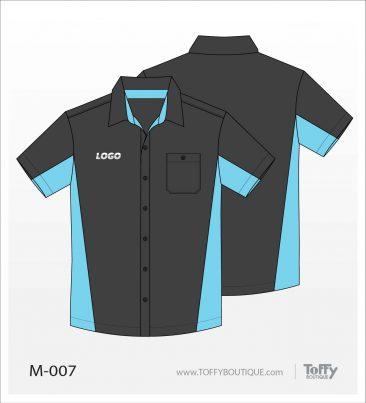 เสื้อเชิ้ตช่าง ยูนิฟอร์ม 3-007