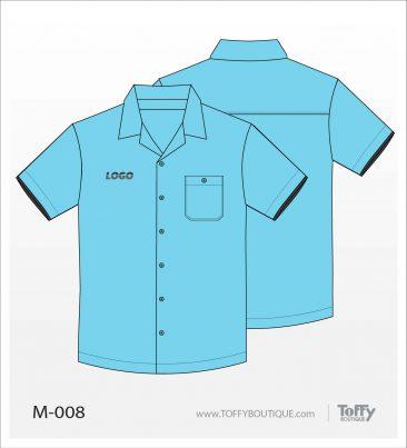 เสื้อเชิ้ตช่าง ยูนิฟอร์ม 3-008