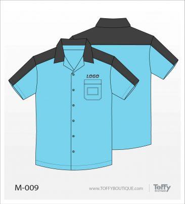 เสื้อเชิ้ตช่าง ยูนิฟอร์ม 3-009