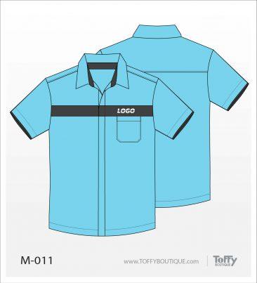 เสื้อเชิ้ตช่าง ยูนิฟอร์ม 3-011