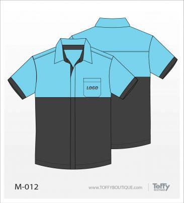 เสื้อเชิ้ตช่าง ยูนิฟอร์ม 3-012