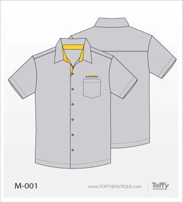 เสื้อเชิ้ตช่าง ยูนิฟอร์ม 4-001