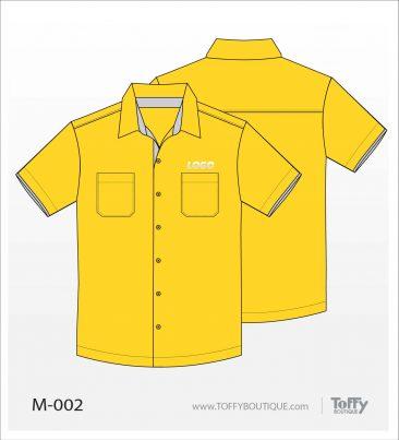 เสื้อเชิ้ตช่าง ยูนิฟอร์ม 4-002