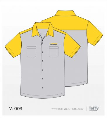 เสื้อเชิ้ตช่าง ยูนิฟอร์ม 4-003