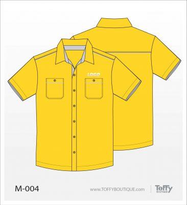 เสื้อเชิ้ตช่าง ยูนิฟอร์ม 4-004