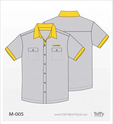 เสื้อเชิ้ตช่าง ยูนิฟอร์ม 4-005