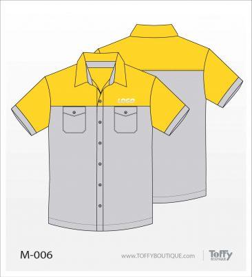 เสื้อเชิ้ตช่าง ยูนิฟอร์ม 4-006