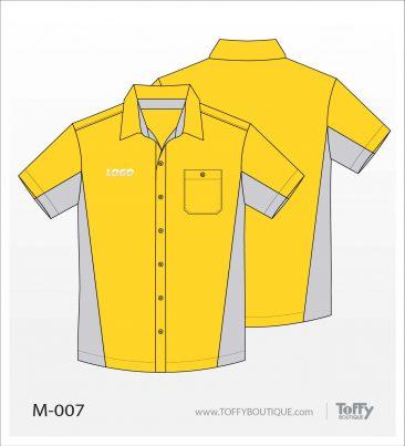 เสื้อเชิ้ตช่าง ยูนิฟอร์ม 4-007