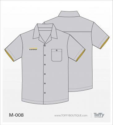เสื้อเชิ้ตช่าง ยูนิฟอร์ม 4-008