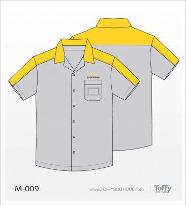 เสื้อเชิ้ตช่าง ยูนิฟอร์ม 4-009