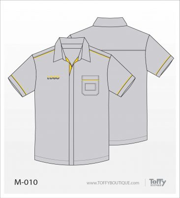 เสื้อเชิ้ตช่าง ยูนิฟอร์ม 4-010