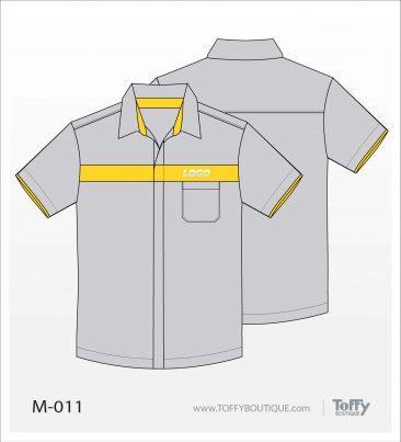 เสื้อเชิ้ตช่าง ยูนิฟอร์ม 4-011