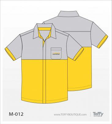 เสื้อเชิ้ตช่าง ยูนิฟอร์ม 4-012